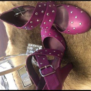 Marc Jacobs fuchsia heels